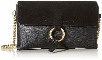 Pieces Pcilva Leather Cross Body Womens Cross-Body Bag