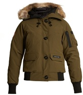 Canada Goose Chilliwick fur-trimmed padded bomber jacket