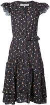 Sea floral print midi dress