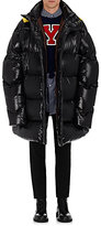 Raf Simons Men's Oversized Down-Quilted Coat-BLACK