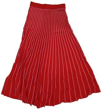Sandro Spring Summer 2018 Red Skirt for Women