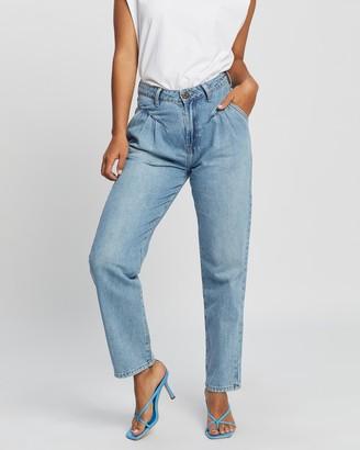 One Teaspoon Pacifica Streetwalkers High-Waist 80's Jeans