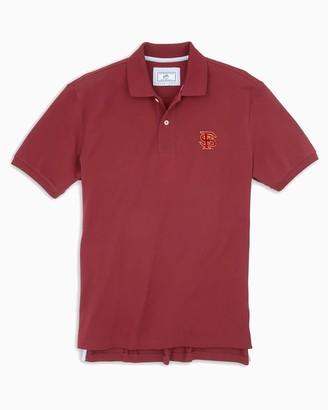 Southern Tide FSU Seminoles Pique Polo Shirt