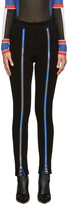 Emilio Pucci Black Zipper Leggings