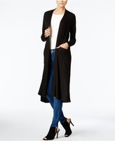 Bar III Duster Cardigan, Only at Macy's