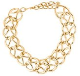 Givenchy Woven Chain-Link Necklace