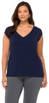 Merona Women's Plus Size Cap Sleeve Fashion Top