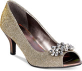 Karen Scott Maralyn Peep-Toe Evening Pumps, Only at Macy's
