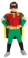 Batman DC Comics Boys' Robin Muscle Chest Deluxe Costume