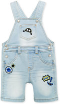 First Impressions Denim Patches Shortall, Baby Boys (0-24 months), Only at Macy's