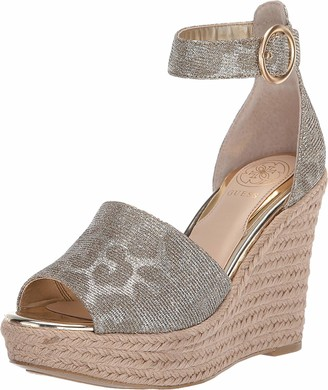 GUESS Women's Espadrille Wedge Sandal
