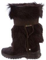Pajar Goat Fur Mid-Calf Boots