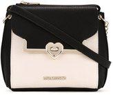 Love Moschino small bicolour crossbody bag
