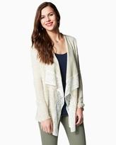 lace trim cardigan - ShopStyle