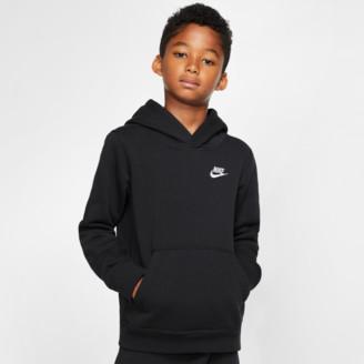 Nike Boys' Sportswear Small Logo Club Hoodie