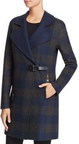Dolce Vita Ingrid Long Plaid Coat