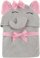 Hudson Baby Pretty Elephant Animal Hooded Towel