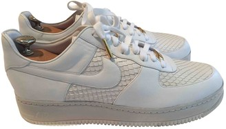 Nike Force 1 White Water snake Trainers