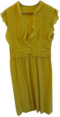 Cacharel Yellow Silk Dresses