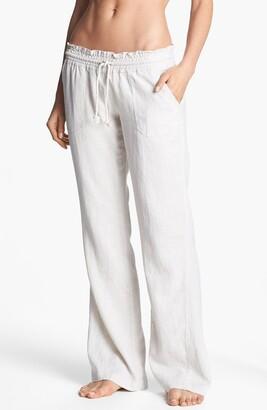 Roxy Oceanside Linen Blend Beach Pants