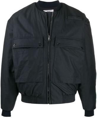 Katharine Hamnett utility pocket bomber jacket