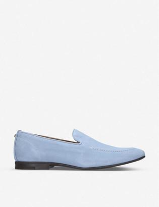 Kurt Geiger Palermo embellished suede loafers