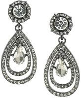 ABS by Allen Schwartz Pave Teardrop Earrings