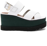 Free People Kate Wedge in White