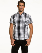Le Château Check Cotton Tailored Fit Shirt
