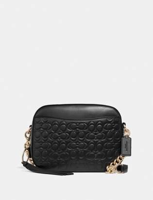 Coach Camera Bag In Signature Leather