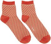 Kolor Orange Striped Socks