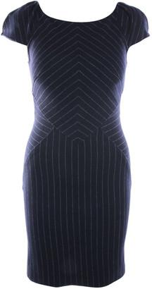 Diane von Furstenberg Blue Wool Dresses