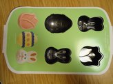 Wilton 6 Cavity Mini Cake Pan by