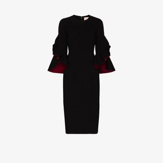 Roksanda Ardemia ruffled midi dress