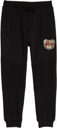 Moschino Hologram Bear Patch Sweatpants