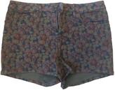 agnès b. Blue Denim - Jeans Shorts for Women