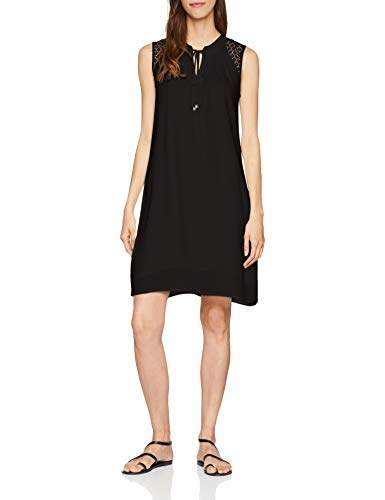 S'Oliver Q/S designed by Women's's 41.805.82.2511 Dress, (Black 9999), 6