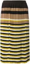 Marni micro pleated midi skirts
