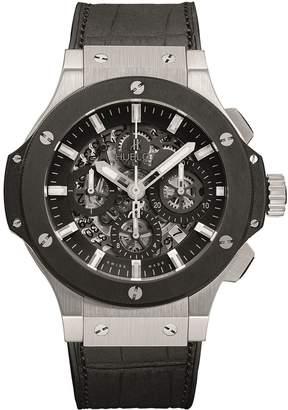 Hublot Big Bang Aero Bang 44mm Steel Ceramic Chronograph Watch