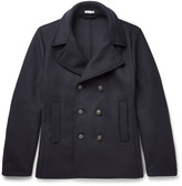 Tomas Maier Felted Wool-Blend Peacoat