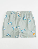 AMBSN Chomp Mens Swim Trunks