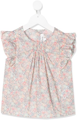 Bonpoint Floral Print Top