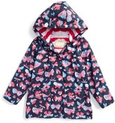 Hatley Toddler Girl's Butterflies Hooded Raincoat