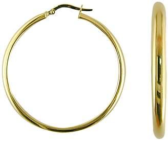 Saks Fifth Avenue 14K Yellow Gold Polished Hoop Earrings