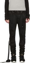 Unravel Black Distorted Jeans