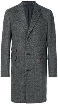 Paul Smith flap pocket classic coat - men - Cupro/Cashmere/Wool/Camel Fur - 48