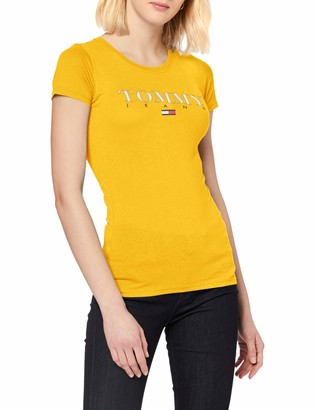 Tommy Jeans Women's TJW Essential Slim Logo TEE T-Shirt