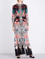 Temperley London Blaze silk-crepe dress