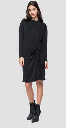 Replay Dress With Asymmetric Knot - Small