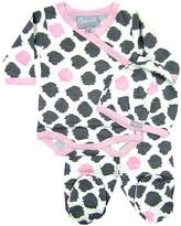 Coccoli Cotton One Piece, Bottoms and Hat Set